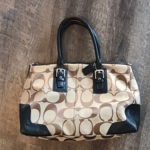 Coach Tote with Crossbody Strap